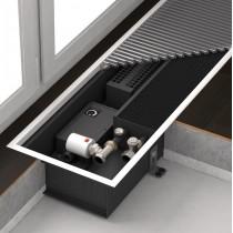 Внутрипольный конвектор  Varmann Qtherm с принудительной конвекцией с тангенциальными вентиляторами (СКЛАД)